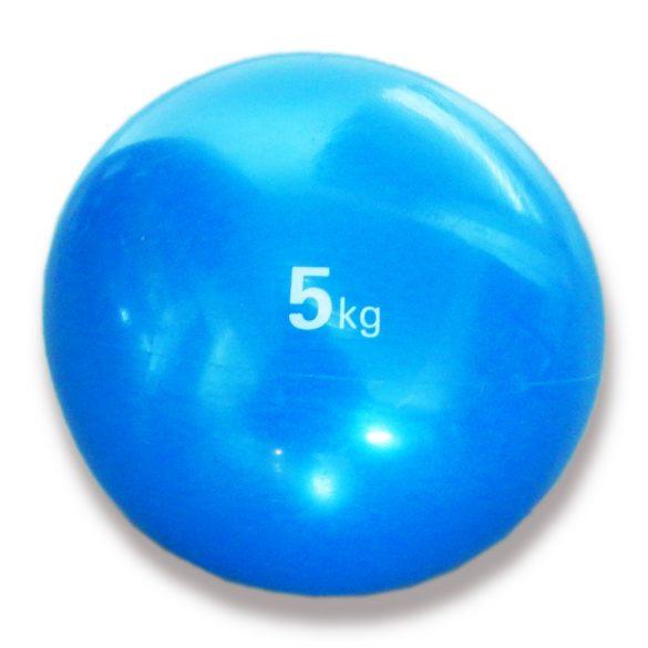 Tactic Sport medicinlabda szoft tapintással 5 kg, puha medicinlabda , gumi medicin labda