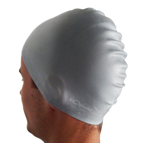 Úszósapka szilikon -Szürke- 50 gr, 100% szilikon