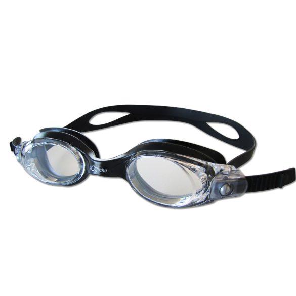 Szilikonos úszószemüveg London , antifog felnőtt -Fekete/Kék