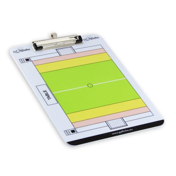 Taktikai tábla vízilabda írható fél és teljes pálya, kétoldalas kivitel