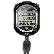 Stopperóra 500 memóriával, uszodai használatra alkalmas stopper, 30 m-ig vízálló, lítium elemmel működik
