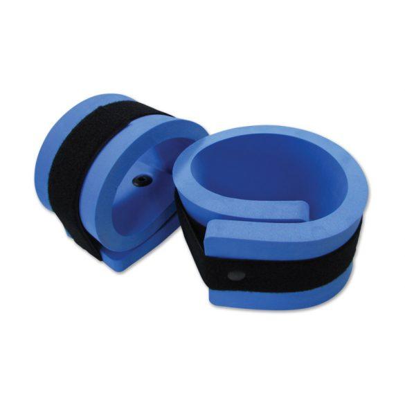 Aquafitness csukló-boka szalag pár, bokára pántolható vízi súly 60x11x2 cm