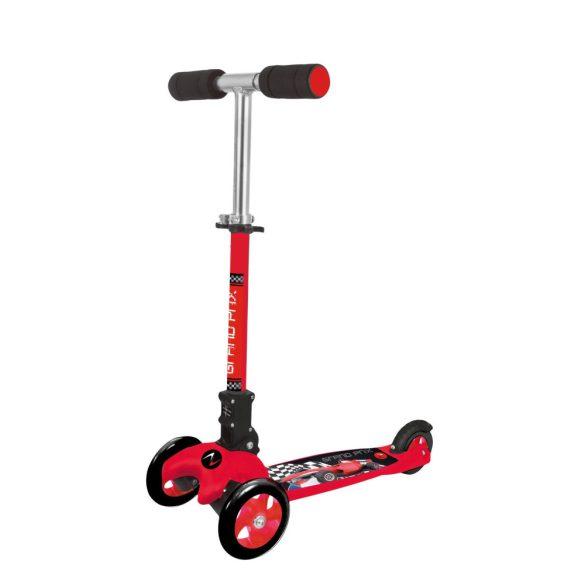 Nextreme GRAND PRIX összecsukható 3 kerekű roller kisfiúknak,  piros