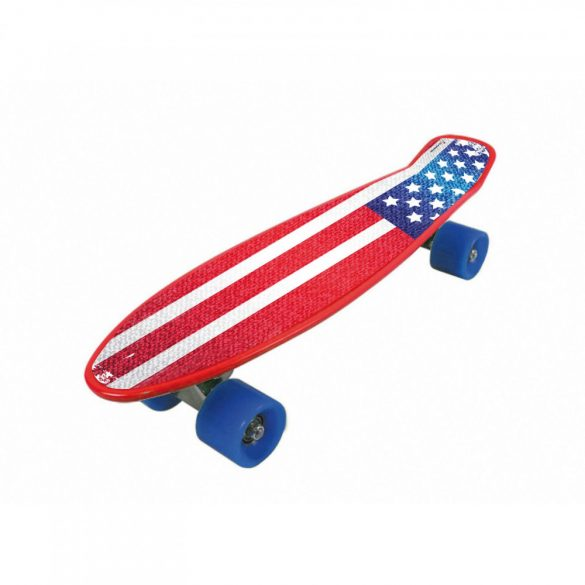Garlando Freedom Pro USA zászló mintájú thermoplast ABS gördeszka