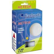 Garlando Meteor * pingpong labda 6db (szabadidős felhasználásra ajánlott ping-pong
