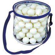Garlando Meteor 100db * pingpong labda csomag szabadidős felhasználásra, iskolai