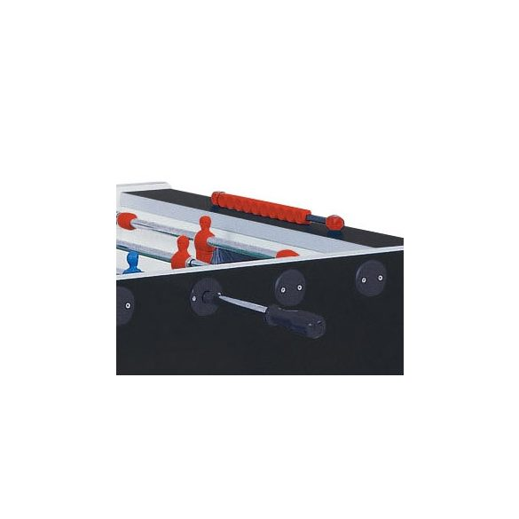 Garlando Foldy Evolution összecsukható, szállítókeretes csocsóasztal, fekete