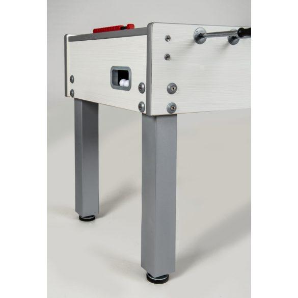 Garlando G-500 W FEHÉR időjárásálló kültéri csocsó asztal átmenő rudazattal
