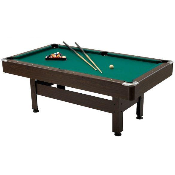 Garlando Virginia 7 billiard asztal, 225x125 cm, külön rendelhető fedlappal