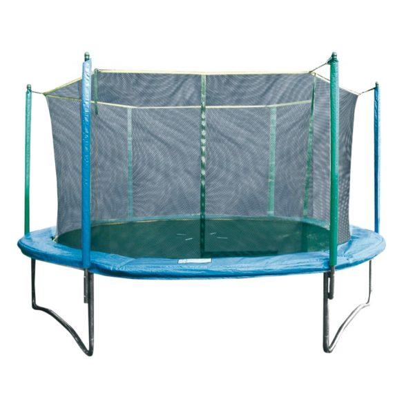 Garlando Combi XXL 423 cm átm. biztonsági kültéri trambulin védőhálóval