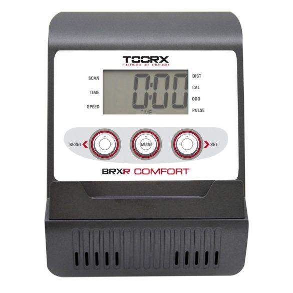 Toorx Recumbent Comfort háttámlás szobakerékpár 110 kg terhelhetőség