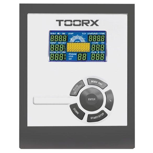 Toorx BRX-90 Recumbent háttámlás ergometer 125 kg terhelhetőség, szobakerékpár HRC