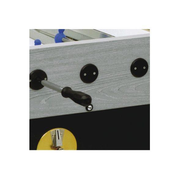 Garlando Olympic - Olympia Silver zsetonos asztalifoci asztal telescop rudazattal