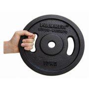 Fekete színű szuper nehéz tárcsás súlyok (2 x 10 kg)