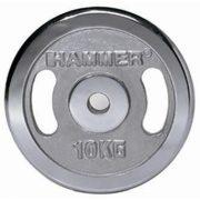 Krómozott tárcsás súlyok (2 x 2,5 kg)