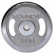 Krómozott szuper nehéz tárcsás súlyok (2 x 10 kg)