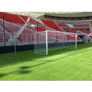 FIFA,UEFA szabvány profilos Labdarúgókapu, hüvelyes versenykapu pár szabadon függő hálóhoz