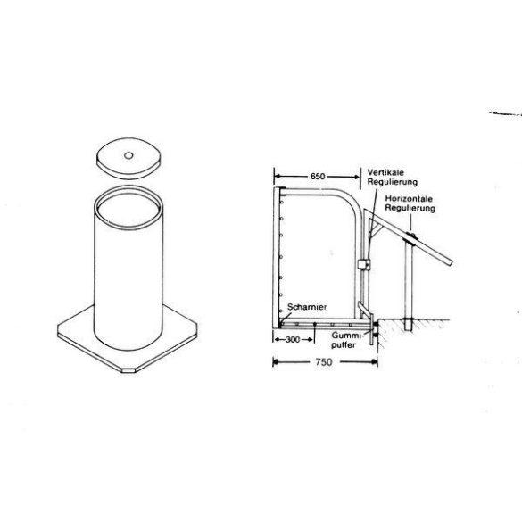 TACTIC SPORT STANDARD partra akasztható vízilabda kapu/pár