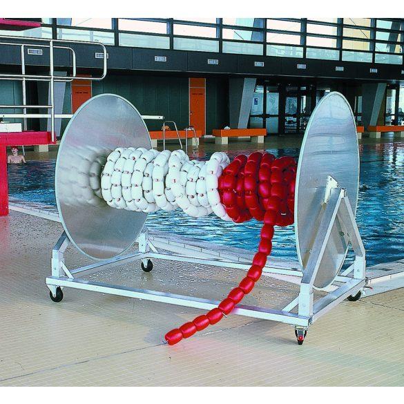 Hullámtörő bólyákhoz tárolókocsi,dobbal MAXI továbbfejlesztett