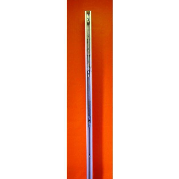 Alumínium röplabda hálótartó oszlop pár kerek 83x83mm, verseny kivitel DVV1 modell