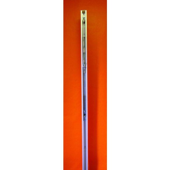 Alumínium röplabda hálótartó oszlop pár kerek 83x83mm, verseny kivitel DVV1