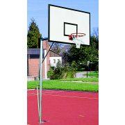Kosárlabda állvány palánkkal gyűrűvel