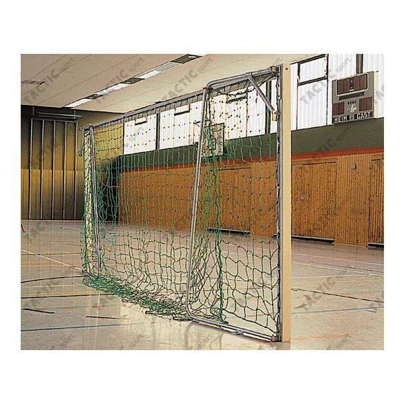 Aluminium teremfoci kapu (párban) 5 méteres behajtható hálótartóval
