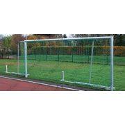 Alumínium junior focikapu, 5x2 m-es elfordítható hálótartóval,kompakt (párban)