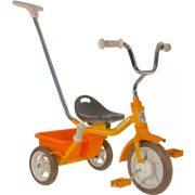 Transporter Passenger sárga szülő vezető karos és szülő fékes tricikli