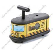 ABC La cosa (furgon) gyermek lábbalhajtós kiskocsi beltéri kisautó - rakodóval