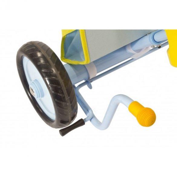 Azzurro valódi szülőkormányos tricikli (bicikli) napernyővel KIFUTÓ TERMÉK