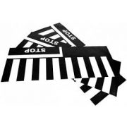 Zebra-gyalogátkelő szőnyeg szett, 3 darab/75x200cm