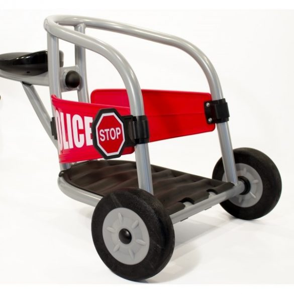 Pilot 300  rendőrautó tricikli, többszemélyes,  dinamic egyenes kormány,