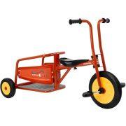 Tűzoltó autó kerékpár, szállító platóval, ülésmagasság 34 cm