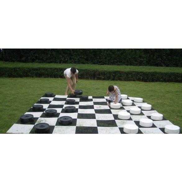 Capetan® Kerti óriás dáma játék Mondo modell 25x9 cm korong