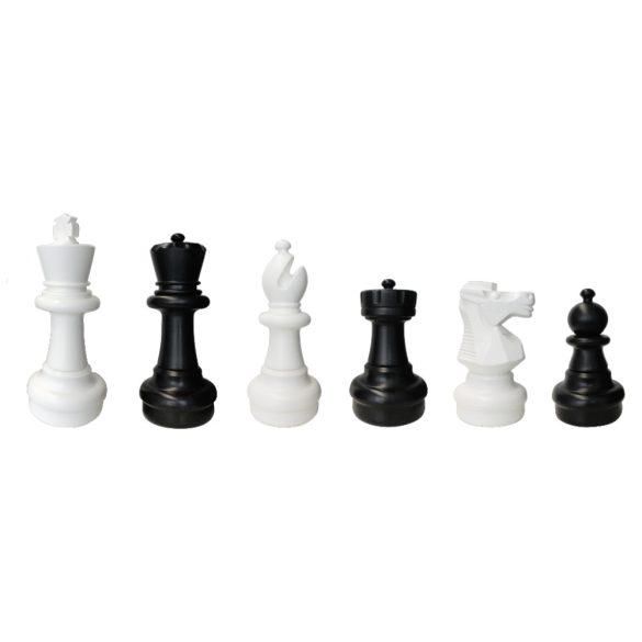 Capetan® Gringo kültéri sakk készlet, király bábu 31cm magas