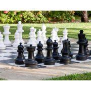 Capetan® Delimo kültéri sakk készlet, 92cm magas király bábuval