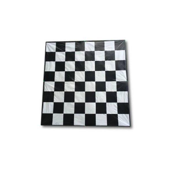 Capetan® textil 272x272cm orkán sakk játékfelület 4db lehorgonyzó kampóval és