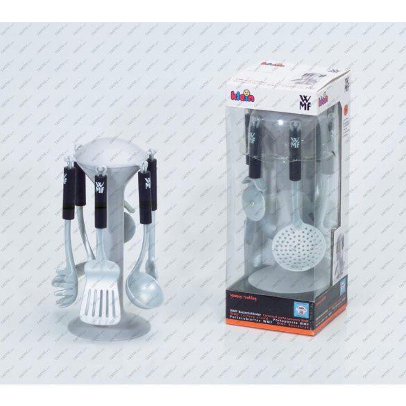 WMF játék háztartási eszközök+tartó , konyhai szerepjáték