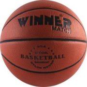 Match 6 szintetikus bőr  ifjúsági, női méretű kosárlabda