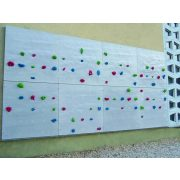 Falra is felszerelhető kialakítású mászófal 8 elemes