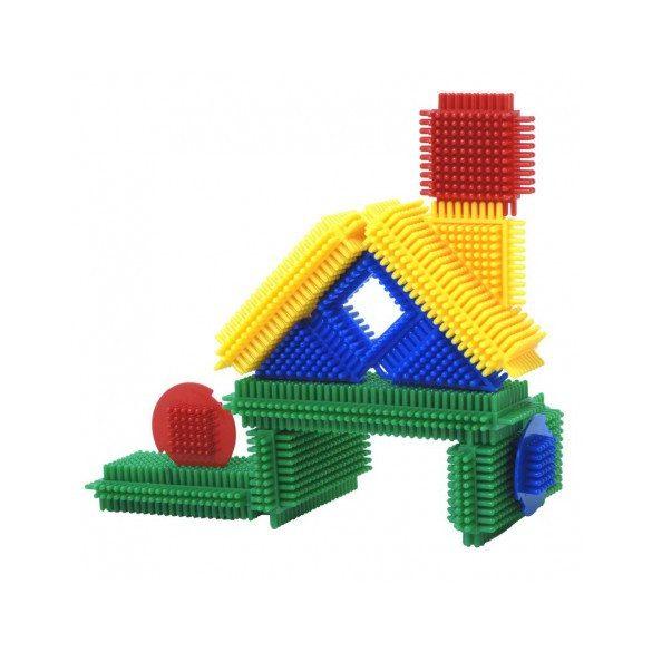 Tüskés építőjáték blokkok