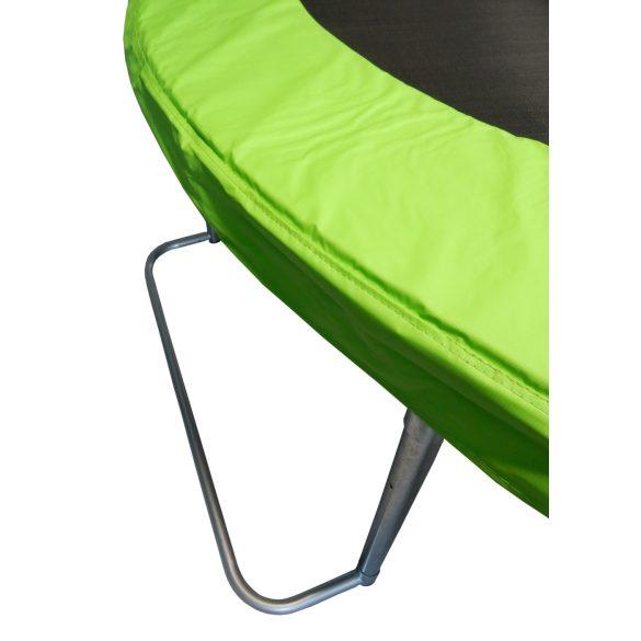 Capetan® Safe Fly extra stabil egyedi lábszerkezetű premium biztonsági trambulin védőhálóval 305 cm átmérővel