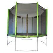 Capetan® Modern Fly íves, borulás elleni lábszerkezetű 305cm átm.kültéri trambulin