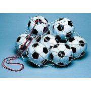 Labdatartó háló 12 db labda tárolásához