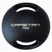 Capetan® 7Kg Professional Line Dual Grip kétfogantyús gumi medicinlabda (vízen