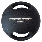 Capetan® 8Kg Professional Line Dual Grip kétfogantyús gumi medicinlabda (vízen