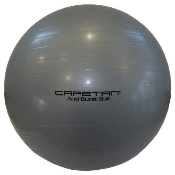 Capetan® Classic 65cm átm. gimnasztikai labda ezüst színben - gimnasztika