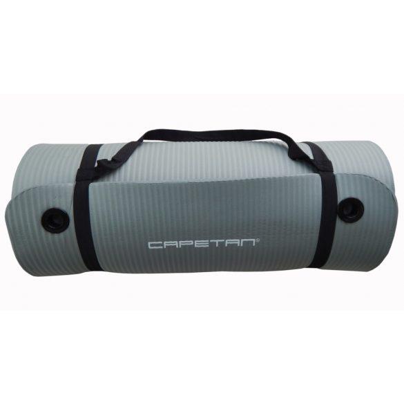 Capetan® Professional Line NBR fitnesz szőnyeg akasztószemekkel extravastag 185x61x1,5cm méretben,