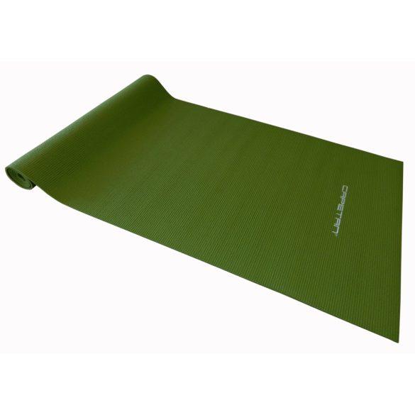 Capetan® 173x61x0,4cm joga szőnyeg zöld színben - jógamatrac